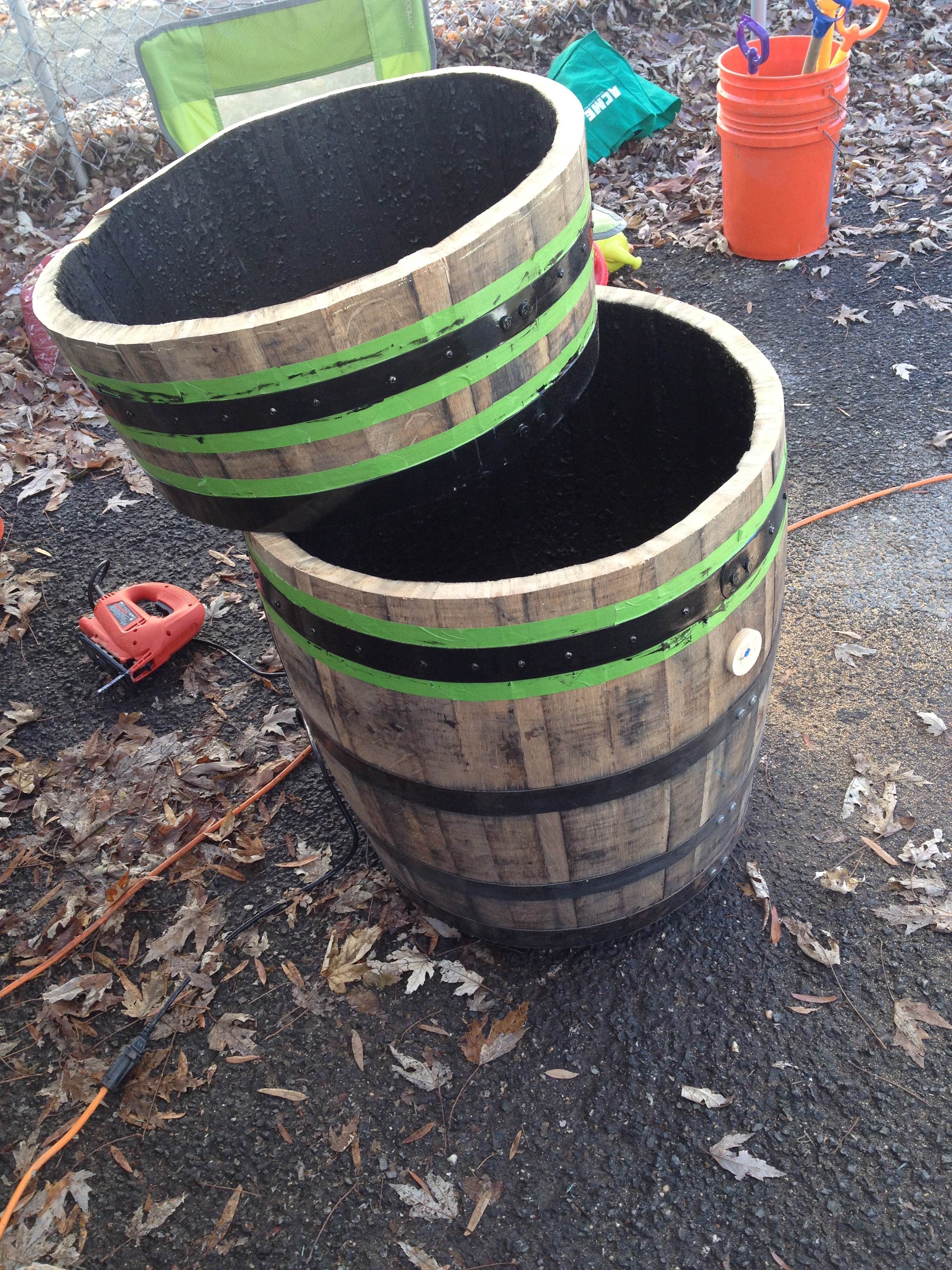 DIY: Building a Bourbon Barrel Meat Smoker – A Ph D  in Beer
