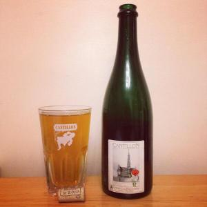 Unblended Lambic from Cantillon