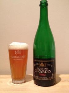 Girardin Gueuze #properglassware