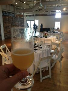 Berlinerweiss at a wedding