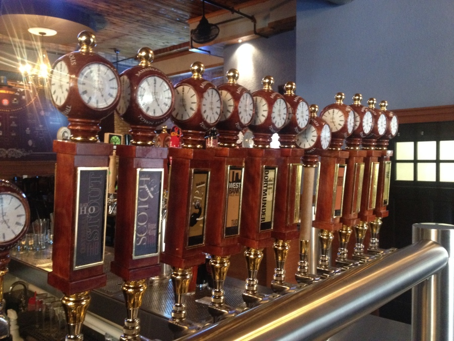 Town Hall Tap Handles